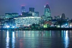 London-Skyline, London, Großbritannien Stockbilder