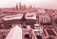 London-Skyline London, Großbritannien Stockfoto