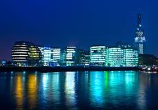 London-Skyline London, Großbritannien Stockbilder