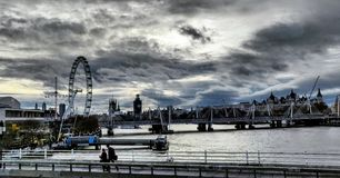 London skyline. royalty free stock images