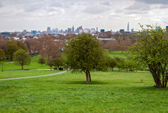 London, skyline panorama from Primrose Hill Stock Photos