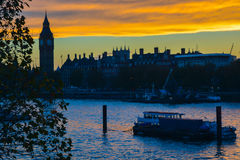 London skyline at Royalty Free Stock Photos