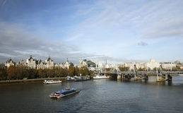 London skyline seen from London Eye Royalty Free Stock Images