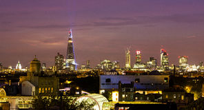 London Skyline with the Shard Royalty Free Stock Photo