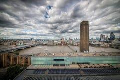 London skyline st pauls Stock Photography