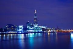 London skyline sunset City Hall and Shard Royalty Free Stock Photos