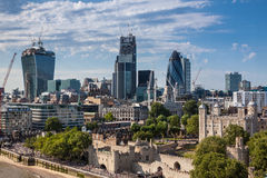 London skyline Stock Photo