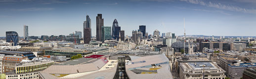 London Skyline, UK Royalty Free Stock Photos