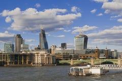 London skyline under construction Stock Photo