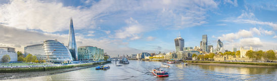 London skyline, United Kingdom Royalty Free Stock Photo