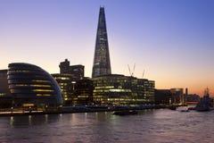 London Skyline - The Shard - United Kingdom Stock Photography