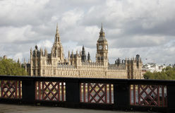 London skyline, Westminster Palace Royalty Free Stock Images