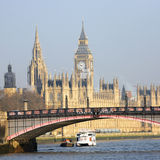 London skyline, Westminster Palace Stock Photography