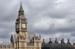 London skyline, Westminster Palace, Big Ben Royalty Free Stock Images