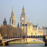 London skyline, Westminster Palace Stock Image