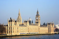 London skyline, Westminster Palace Royalty Free Stock Photo