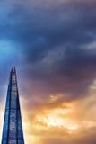 London skyscraper against dusk lit sky Stock Photography
