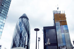 London skyscrapers Stock Photos