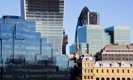 London skyscrapers Royalty Free Stock Images