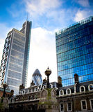 London skyscrapers Royalty Free Stock Photo