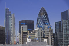 London skysrapers stock images