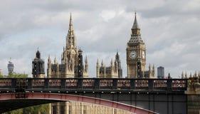 london slotthorisont westminster royaltyfri foto