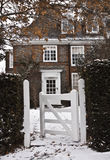 london snow arkivfoto