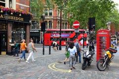 London Soho Arkivbilder