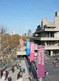 London Southbank & National Theatre royalty free stock image