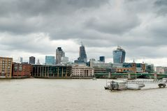 London Southwark bridge Royalty Free Stock Photos