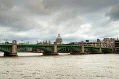 London Southwark bridge Royalty Free Stock Images
