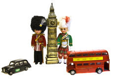 london souvenir Arkivbild