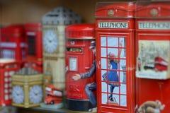 London souvenir Arkivfoto