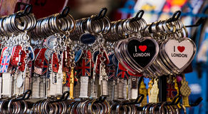 London souvenir Royaltyfria Foton