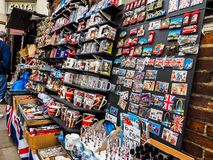 London souvenir memorabilia shop in London (hdr) Royalty Free Stock Images