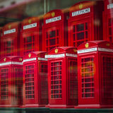 London Souvenir Phoneboxes Royalty Free Stock Image