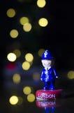 London souvenir - polis Arkivbilder