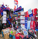 London souvenir stall Stock Photography