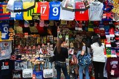 London souvenirs - street shop Stock Photography