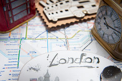 London souvenirs Royalty Free Stock Photo