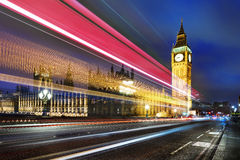 London spirit by night Royalty Free Stock Photography