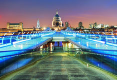 London St. Paul Cathedral, UK Stock Image