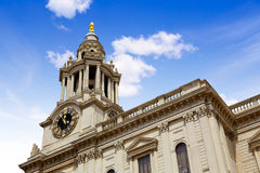 London St Paul Pauls Cathedral in England Royalty Free Stock Photo