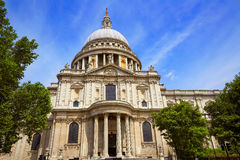 London St Paul Pauls Cathedral in England Stock Images
