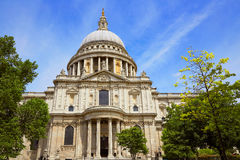 London St Paul Pauls Cathedral in England Stock Photography