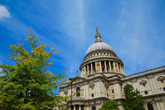 London St Paul Pauls Cathedral in England Stock Photo