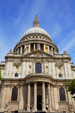 London St Paul Pauls Cathedral in England Stock Image