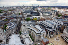 London from St Paul's Cathedral Stock Photos