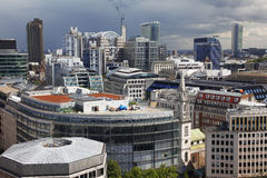 London from St Paul's Cathedral Stock Photo