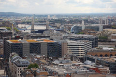 London from St Paul's Cathedral Royalty Free Stock Photo